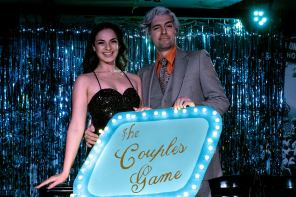 Jada Rifkin & John Fleming in Bygone Theatre's The Couples' Game